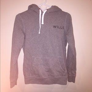 Jack wills fleece hoodie for sale